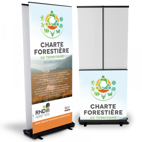 Roll-up recto-verso