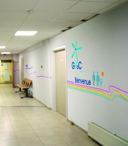 Signalétique intérieure de bâtiment